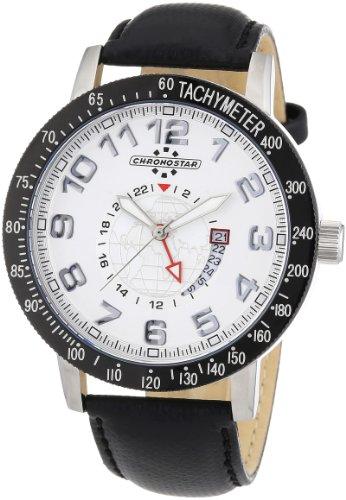Chronostar Watches R3751199002 - Orologio da polso, uomo, nylon, colore: nero