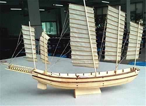 JHSHENGSHI Modelo de velero 1/48 Kits de Modelo de Bote Salvavidas de Madera Maciza Las Costillas de Barco Completo Modelo de Bote Salvavidas de Lanzamiento de 30 pies