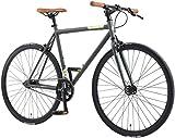 BIKESTAR Singlespeed 700C 28 Zoll City Stadt Fahrrad...