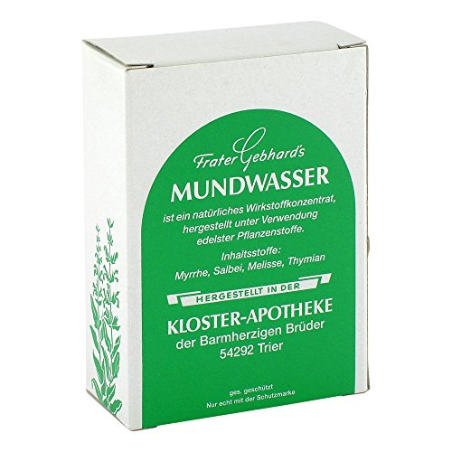 FRATER GEBHARD`S Mundwasser 50 ml