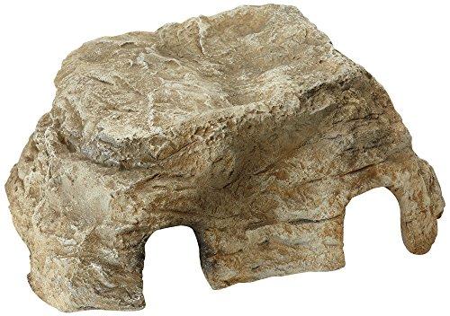 Oase 50420 FiltoCap sand | Dekorfels Abdeckung | Sandstein | Bachlaufschale | Teichfilter | Abdeckung