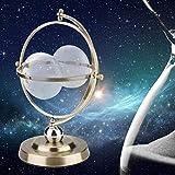 01 Reloj de Arena Giratorio de 15 Minutos, Reloj de Arena Decorativo, Reloj de Arena, para el hogar para la Oficina