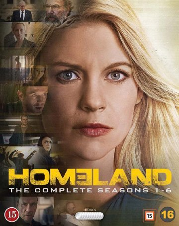 Homeland (Complete Seasons 1-6) - 18-Disc Box Set ( ) [ Dänische Import ] (Blu-Ray)