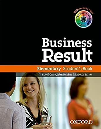 Business Result: Elementary: Students Book with DVD-ROM and Online Workbook Pack by Speck Chris(2012-02-16)