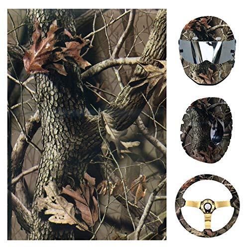 Youliy Schnelldruck-Folie, Wassertransferdruck, Hydro-Tauchfolie, Herbstzweige, geeignet für Helm, Reifen, Lenkraddekoration