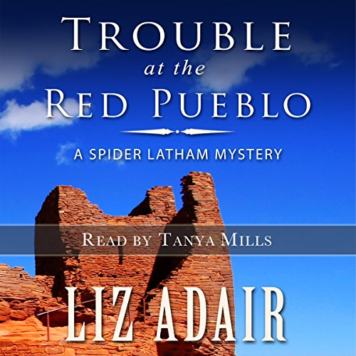 Trouble at the Red Pueblo audiobook cover art