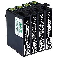 ICBK69L ×4 ブラック 4本セット エプソン用 互換インク 染料 ブラック