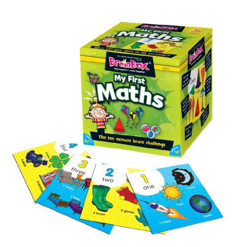 The Green Board Game Co. BrainBox - Il Mio Primo Memory matematico [Lingua Inglese]