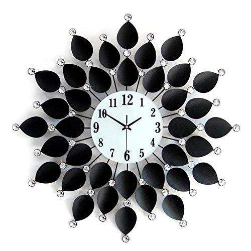 JNYTDA Europäische Wanduhr Wohnzimmer Und Schlafzimmer Stille Wanduhr Modernes Design Kreative Uhr Wandhauptdekoration Wandklo