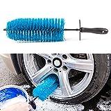 Cepillo de limpieza para llantas de coche, limpiador de llantas para tu coche, motocicleta o bicicleta, herramienta de lavado