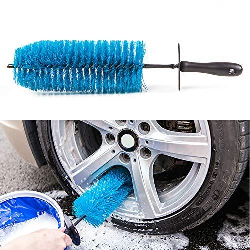 Soldmore7 43,2 cm Pouces de Voiture de Roue Pneu Rim Scrub Brosse à Laver Cleaner véhicule Outil de Nettoyage