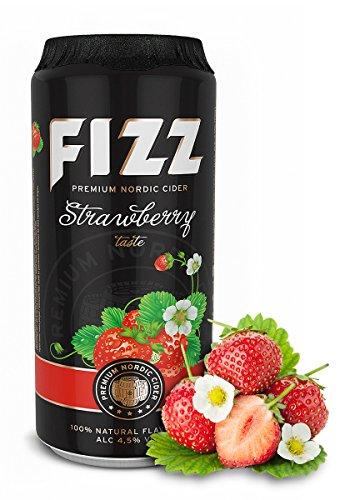 Fizz Cider Strawberry / Erdbeere 0,50l 4,5%