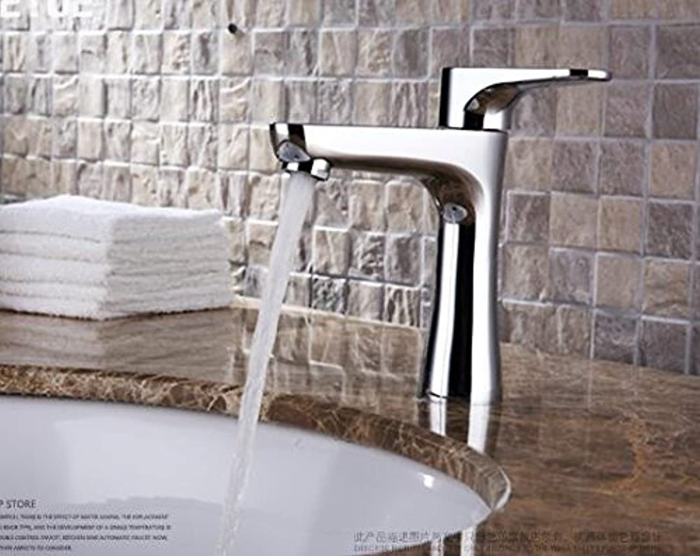 Mangeoo Copper Single Washbasin Taps Single To Single Hole Quick Wash Basin Faucet Bathroom Cabinet Basin
