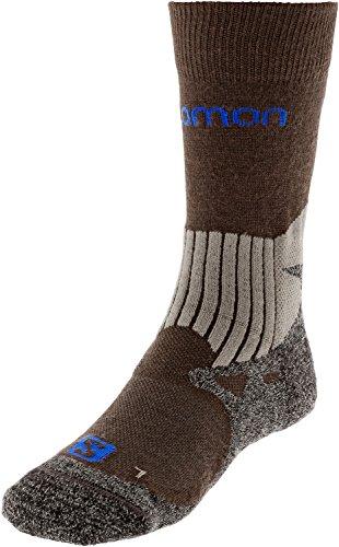 Salomon chaussettes de randonnée, noir/marron
