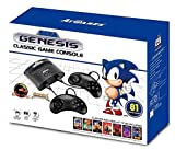 Includes 81 classic sega(r) games built-in, including sonic(r), Mortal kombat(r) & more Stereo sound Original Controller ports Includes 2 wired Controllers