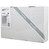 50x14x1 cm KalaMitica KIT-61 Set Lavagna Cucina con Accessori magnetici-Kit Kitchen 61 Metallo Antracite