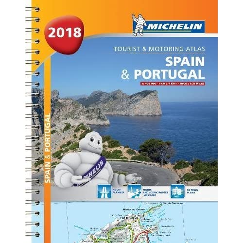 Road Map Of Portugal And Spain.Portugal Road Map Amazon Co Uk