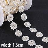 Cadena de perlas de imitación para hacer ropa de bricolaje, decoración, joyería y accesorios para manualidades Estilo 06.