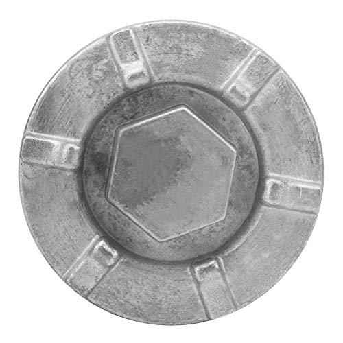 Tapón de drenaje de aceite - 4HC-15351-00-00 Cubierta del tapón de drenaje de aceite del motor para Yamaha BigBear Kodiak Grizzly Rhino