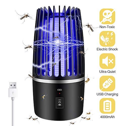 Eliminador de Mosquitos eléctrico 2 en 1, con luz para el
