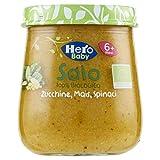 Hero Baby Solo Omogeneizzato di Zucchine Mais e Spinaci, 120g