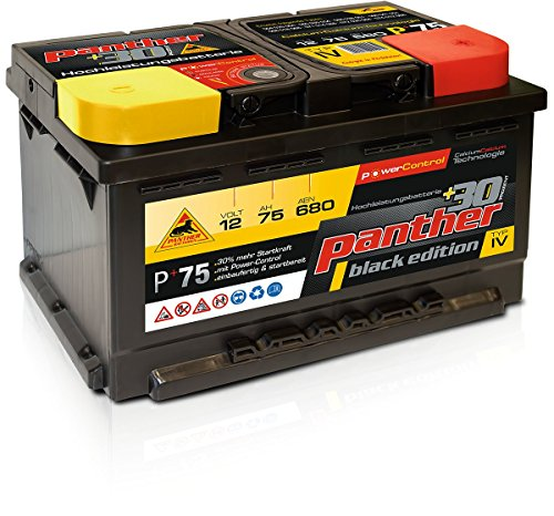 Panther Batterien p+3075 Starterbatterie