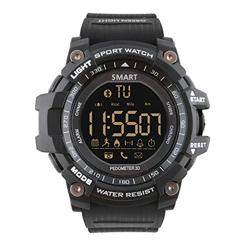 Sports Watch Digital Watch Watches for Men Men's Watch with Bluetooth Waterproof Military Tactical Stopwatch Army Watch Calories Fitness Tracker Running Pedometer Shock Resistant Timer Alarm