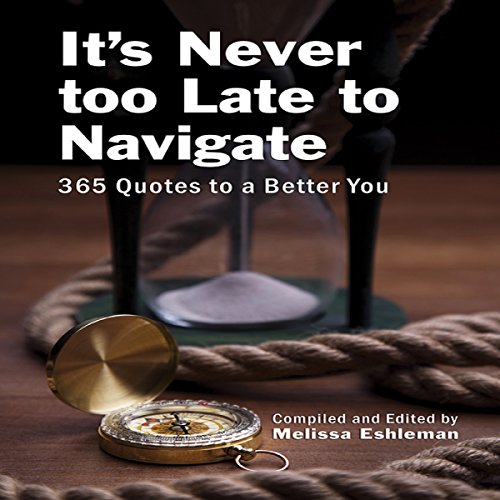 It's Never Too Late to Navigate audiobook cover art