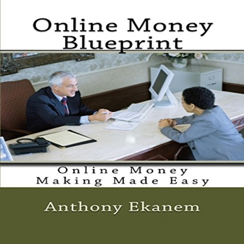 Online Money Blueprint audiobook cover art