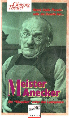 Ohnsorg Theater - Meister Anecker [VHS]