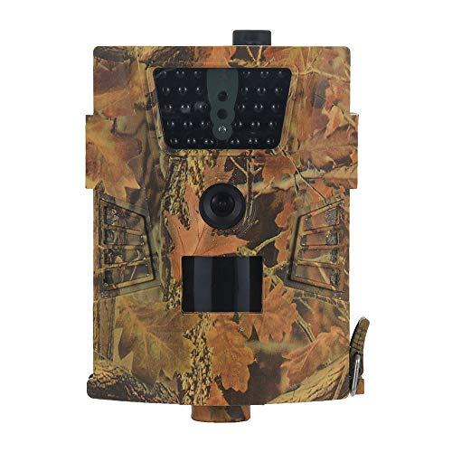 Explopur Jagd Kamera - 8Mp 720P Trail Kamera Jagdspiel Kamera Outdoor Wildlife Scouting Kamera Mit LCD Fernbedienung Pir Sensor Infrarot Nachtsicht Ip54 Wasserdicht