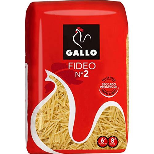 Gallo - Pasta per fideuà N. 2,confezione da 500g, 2unità