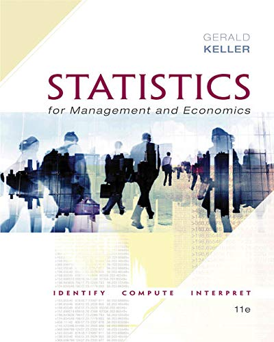 Compare Textbook Prices for Statistics for Management and Economics + XLSTAT Bind-in 11 Edition ISBN 9781337093453 by Keller, Gerald