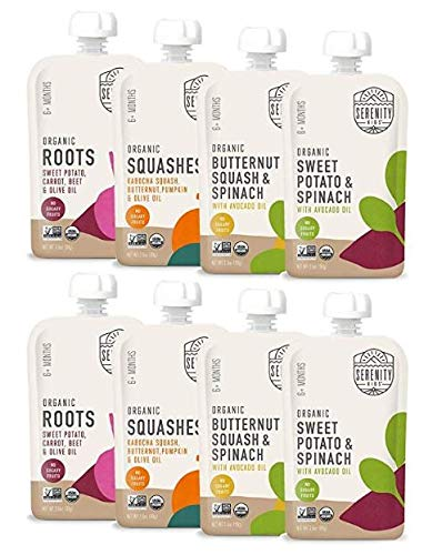 Serenity Kids Baby Food, Organic...