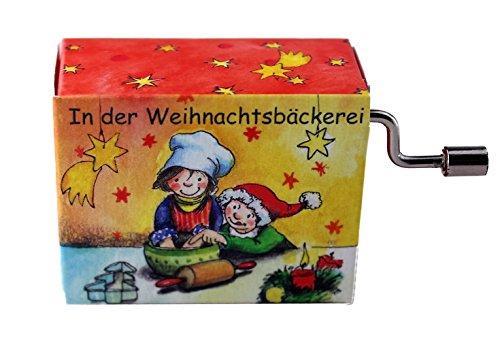 mugesh Spieluhr In der Weihnachtsbäckerei von Rolf Zuckowski - Schönes Geschenk für Musiker