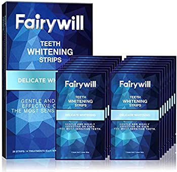 28-Count Fairywill Sensitive Teeth Whitening Strips
