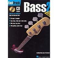 Hal Leonard Fast Track Bass Vol.2+ CD–Bass TAB Teoría y PEDAG ogik Bass Guitarra