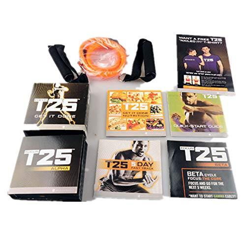 Beachboy Shaun T's FOCUS T25 Home Fitness DVD programa de entrenamiento