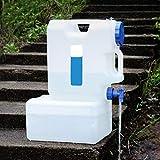 dizi248 Eimer Wasserbehälter, tragbar, fürs Auto, für Camping, Zuhause, Getränke, Eimer für...