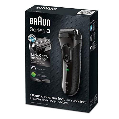 Braun Series 3 3020 Elektrisch scheerapparaat, zwart