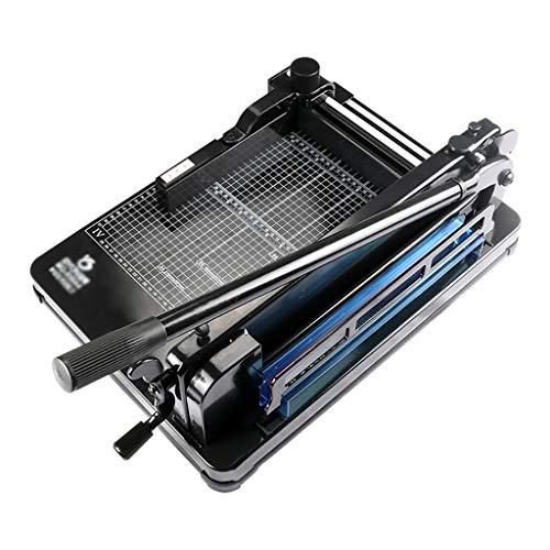 Nai-storage Heavy Duty 300MM Corte Trimmer Uso Industrial 400 Hojas Capacidad A4 B7 de Papel Guillotina de Papel Corte Profesional (Color : Black)