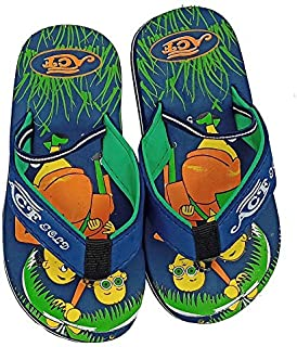 Mag Creations Cartoon Design Kids Kids Slippers with Elastic for Boys & Girls