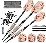 Fat Cat Realtree APC Pink Camo Soft Tip Darts with Storage/Travel Case, 16 Grams