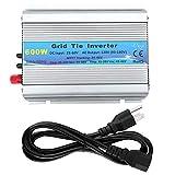 600ワットグリッドネクタイ純粋な正弦波家庭用ソーラーパワーインバーター22-60ボルト用テレビ、エアコン、洗濯機、など、家電(AC 100-120V)
