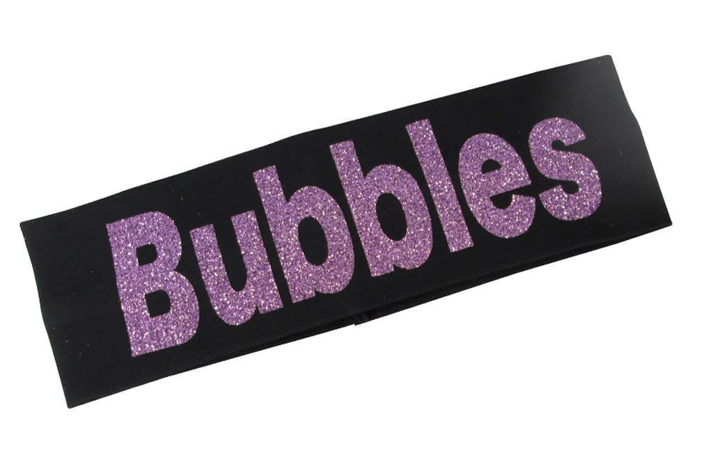 Cute Personalized Headband with Phoenix Mall Name Glittered New life Lettering in