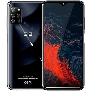 Teléfono Móvil【2020】 ELEPHONE E10, Android 10 Smartphone Libre, Cinco Cámaras 48MP + 13MP, Pantalla Waterdrop de 6.5 , Octa Core 4GB+64GB, Batería 4000mAh, Dual SIM + SD (3 Ranuras), NFC GPS Negro: Amazon.es: Electrónica