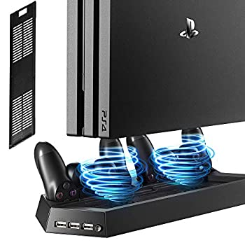 PS4 Vertical Stand with Cooling Fan: photo