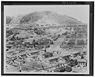 HistoricalFindings Photo: Quarry Heights Military Reservation,Ancon Hill,Balboa,Former Panama Canal Zone,1