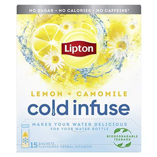 Lipton Cold Infuse Lemon + Chamomile, 90 zakjes – Multipack