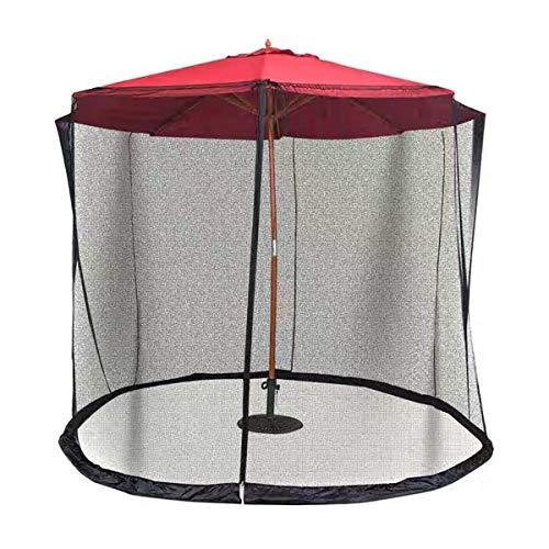 YYCHJU Cubierta De Red Anti Mosquitos Ajustable Mosquitero Plegable Ayuda a Proteger de los Mosquitos Se Adapta sombrillas y Mesa de Patio